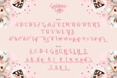 Web Font - Goodness Cakes Product Image 2