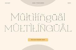 Religan - Modern Serif Font Product Image 4