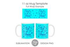 11 oz mug template, 15 oz mug template Product Image 5