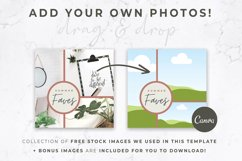 Instagram Post Templates for Canva | Beige & Rust Product Image 5