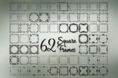 Square Frames Dingbat Font Product Image 3