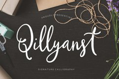 Qillyanst Signature Calligraphy Product Image 1