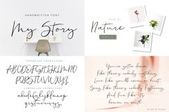 Font bundle - 6 handwritten and calligraphy fonts Product Image 2