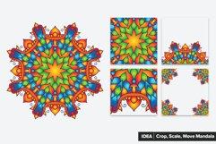 Mandala Vector Ornaments Bundle Product Image 4