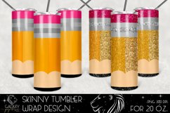 Huge Bundle 20 Oz. Skinny Tumbler Wrap Sublimation Design Product Image 5