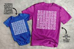 GeoBlocks - a geometric font set of blocks and shapes! Product Image 4