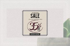 GRUNGE Facebook sale and quote pack Product Image 9