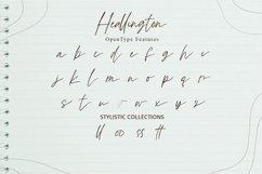 Heallington-Handwritten Brush Font Product Image 4
