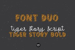 TIGER STORY Color Font Duo Product Image 6