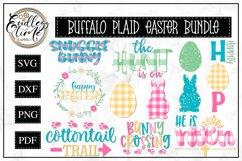Easter Bundle - 11 Buffalo Plaid SVG or Sublimation Designs Product Image 1