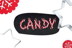 Christmas Font - Christmas Candy Product Image 4
