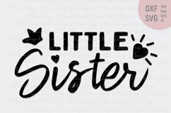 Little sister and Big sister matching tshirt Product Image 3