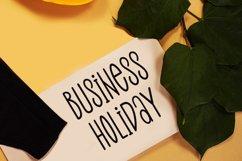 Christmas Moment - Modern Holiday Font Product Image 3