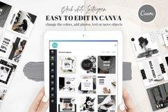 Canva Instagram Templates Black&White Product Image 2