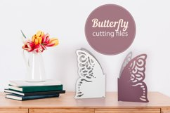 Butterfly papercut tempelate, SVG cutting file Product Image 3