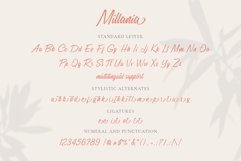 Millania || Modern Script Font Product Image 2