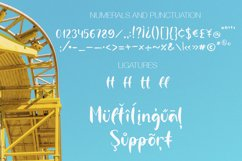 Roller Coaster A Handwritten Font Product Image 3