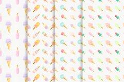 Watercolor icecream Product Image 4