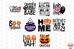 Big Halloween SVG Bundle - 50 Designs Cut Files Product Image 5