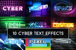 Cyber Text Effects Mockup Product Image 1
