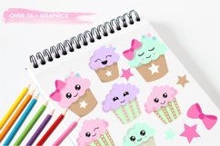 Cutie Cupcakes graphics and illustrations Product Image 3