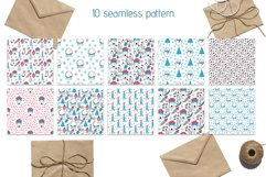 Christmas Line icons and patterns Product Image 4