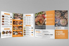 Food Menu Trifold Brochure v2 Product Image 3