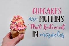 Web Font Mint Cupcake Font Duo Product Image 2