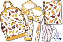 Autumn Time Clipart Product Image 3