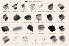 Procreate Texture brushes Product Image 2