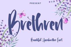 Brethren - Beautful Handwritten Font Product Image 1
