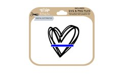 Thin Blue Line SVG Product Image 1