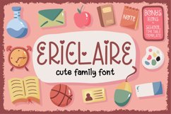Ericlaire Font Product Image 1