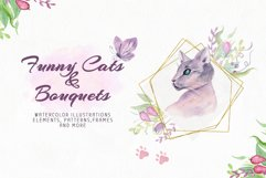 Funny Cats & Bouquets Product Image 2