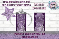 20oz| 12oz |Sublimation Skinny Tumbler Wrap | Design Bundle Product Image 3