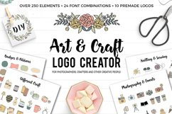 Art and Craft Logo Creator Product Image 1
