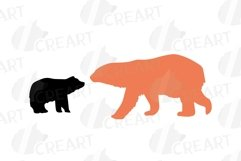 Baby and mama bear nursery clip art collection, bears print Product Image 11