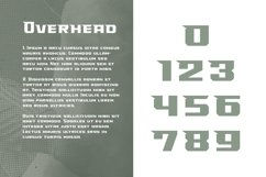 Overhead Typeface | Font Product Image 3