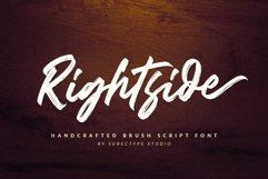 Rightside / Brush Script Font Product Image 1