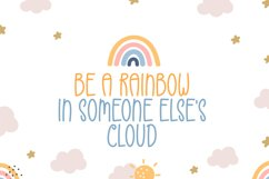 Rainbow - Cute Display Font Product Image 3