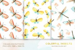 Watercolor Set Colorful Insects Product Image 3