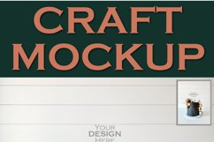 Mockup Dark Cake Topper | JPEG Product Image 2