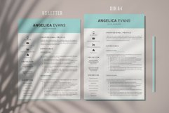 Modern Resume Template and Cover Letter. Fully editable CV Product Image 5