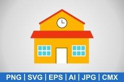 Vector School Icon Product Image 1