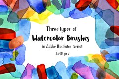 Watercolor Brushes Product Image 1