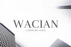 Wacian Serif Font Family Pack Product Image 1