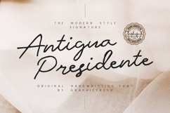 Antigua Presidente Product Image 1