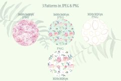 Peonies Clipart Watercolor Set Product Image 4