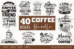 Coffee SVG bundle 40 designs Coffee SVG bundle Product Image 3