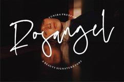 Rosangel | A Beauty Signature Font Product Image 1